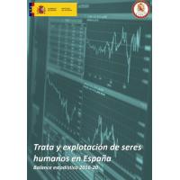 Trata y explotación de seres humanos en España. Balance estadístico 2016-20