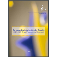European Institute for Gender Equality: 2021-2023 Single Programming Document
