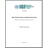Best Practice Forum on Gender and Access: Gender Internet Governance Forum