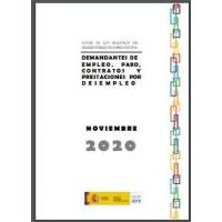 Datos de los registros del Servicio Público de Empleo Estatal: noviembre 2020